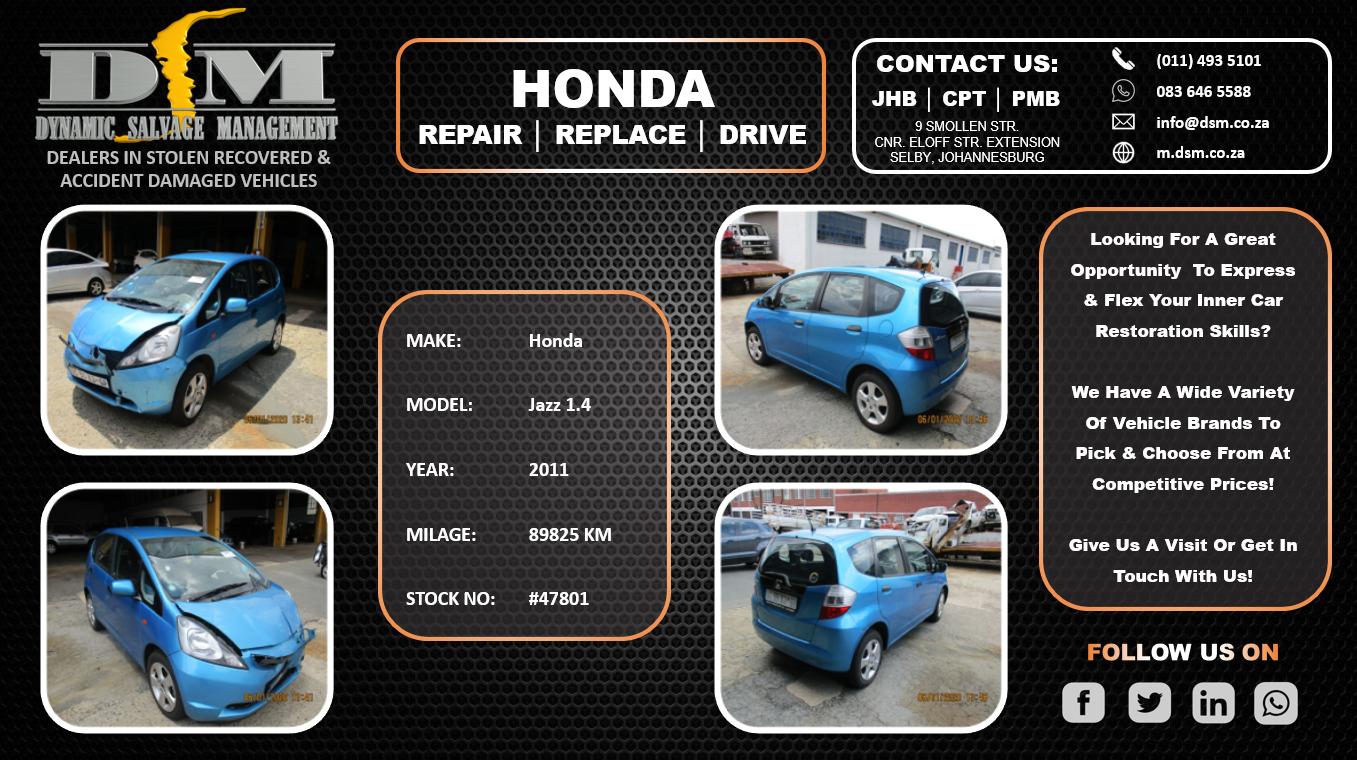 2011 Honda Jazz 1.4