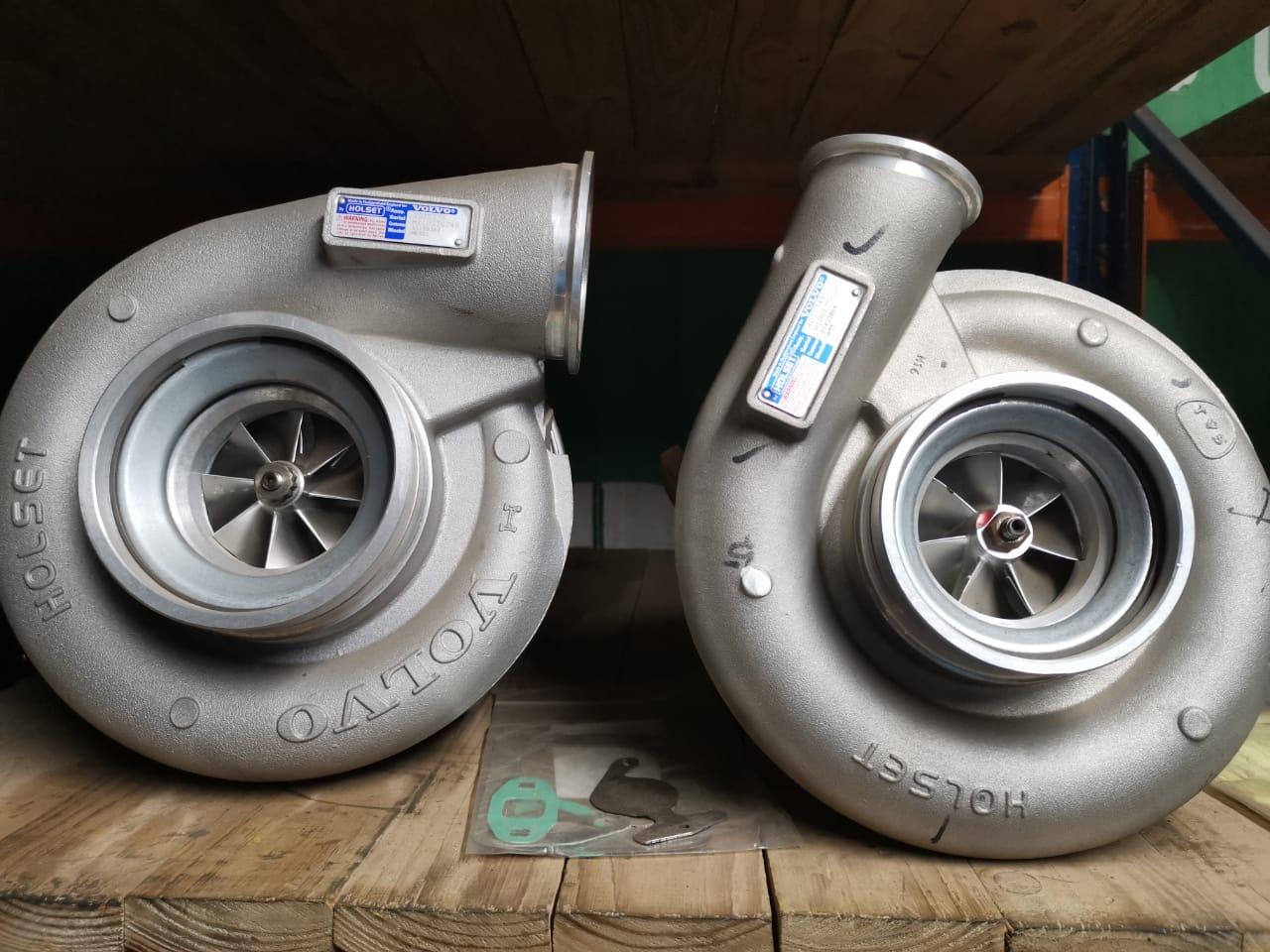 Volvo turbo charge