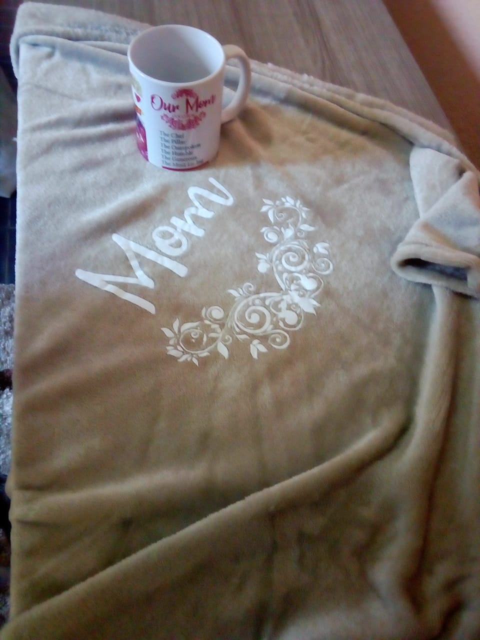 Printed Clothing To Keep You Warm During cold Days. Gowns, Fleece Blankets, Hood