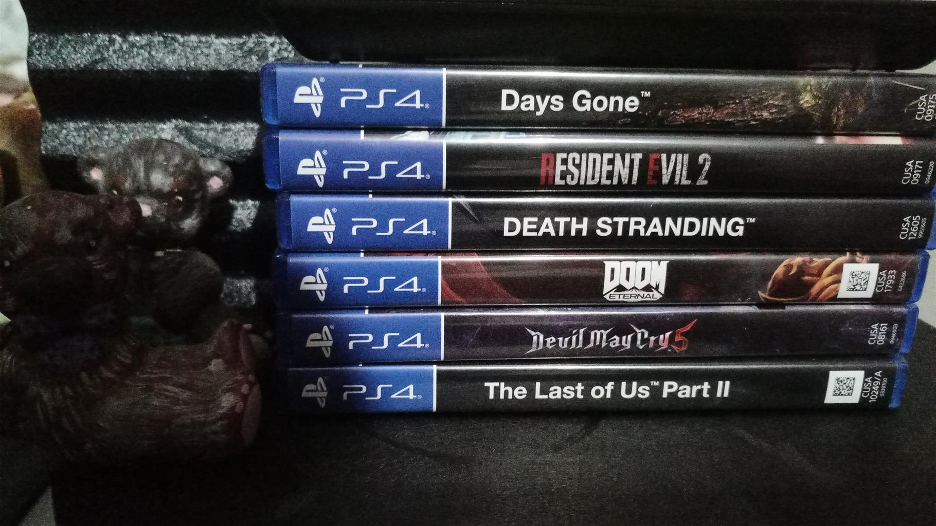 1 Tb ps4 with 6 games swop for marine fishtank