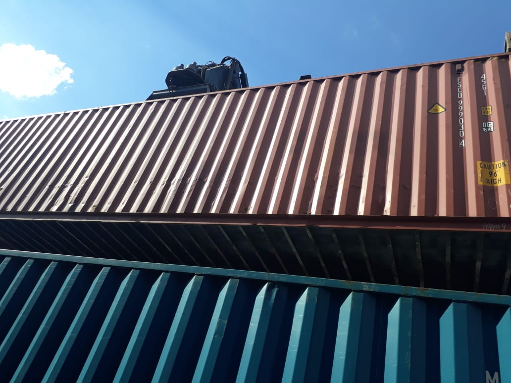40ft / 12m High Cubed Shipping Containers available in City Deep