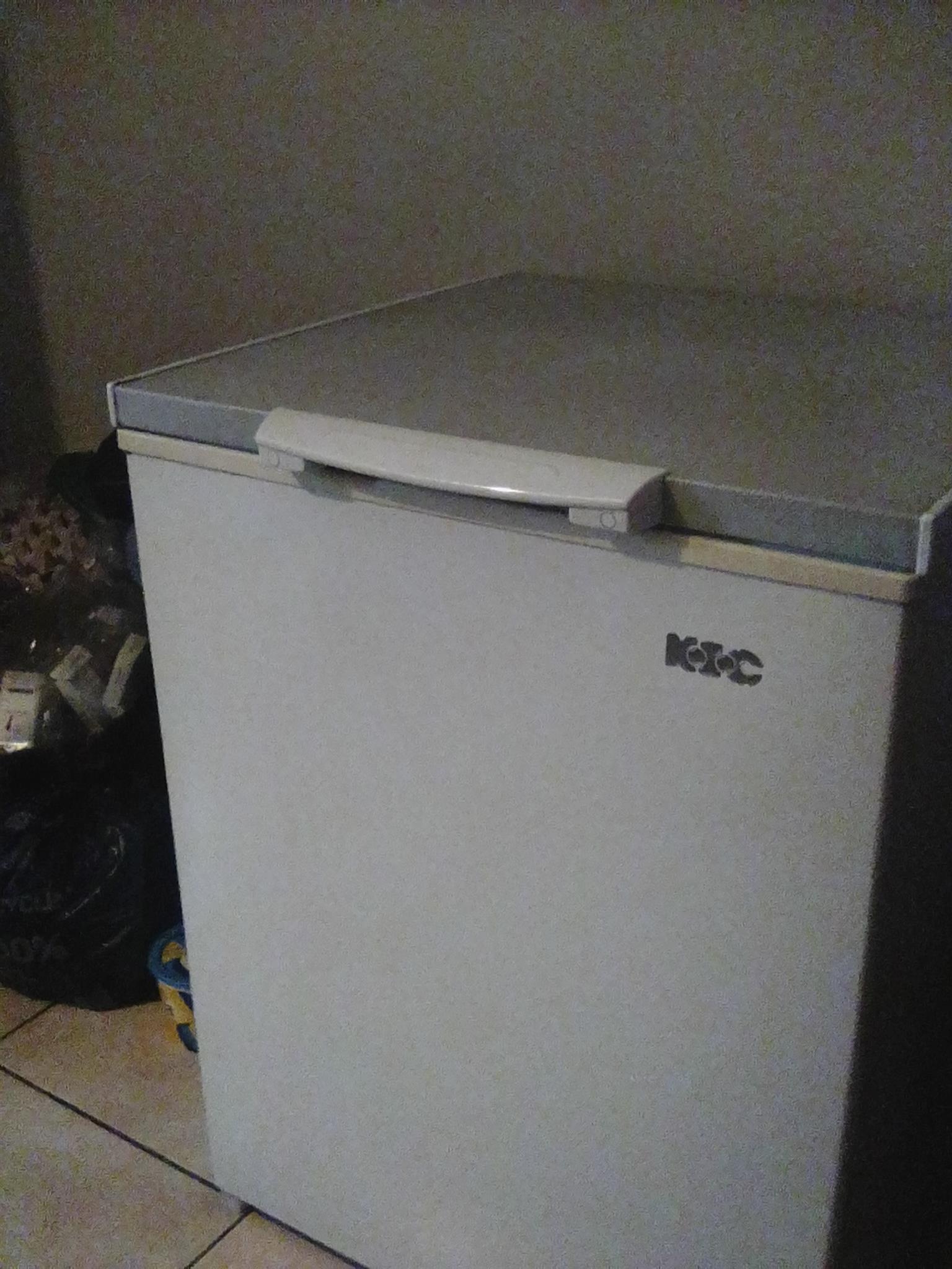 KIC deep freezer