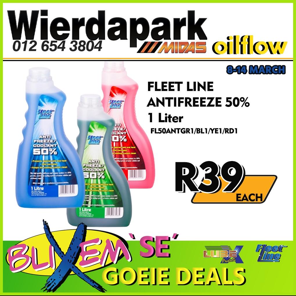 Fleet Line Antifreeze 50% 1 Liter
