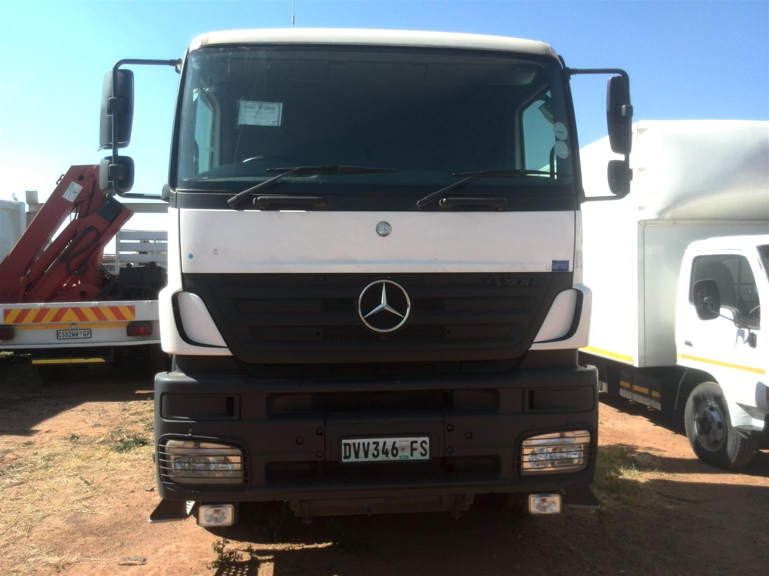2012 - MERCEDES AXOR Posted by Lemeshen Pillay UBUNTU Truck Sales