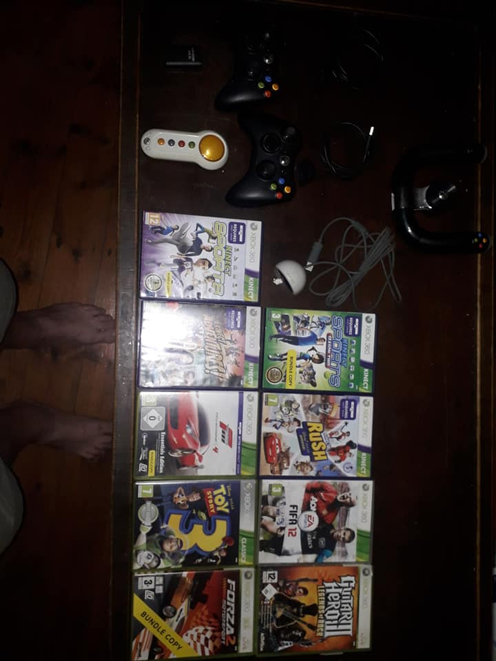 Xbox 360 and Kinnect and Accessories For sale
