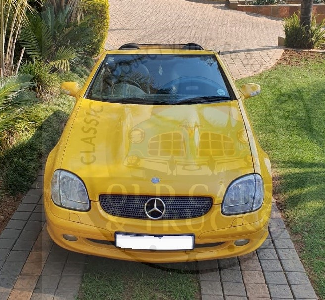 2003 Mercedes Benz SLK 200