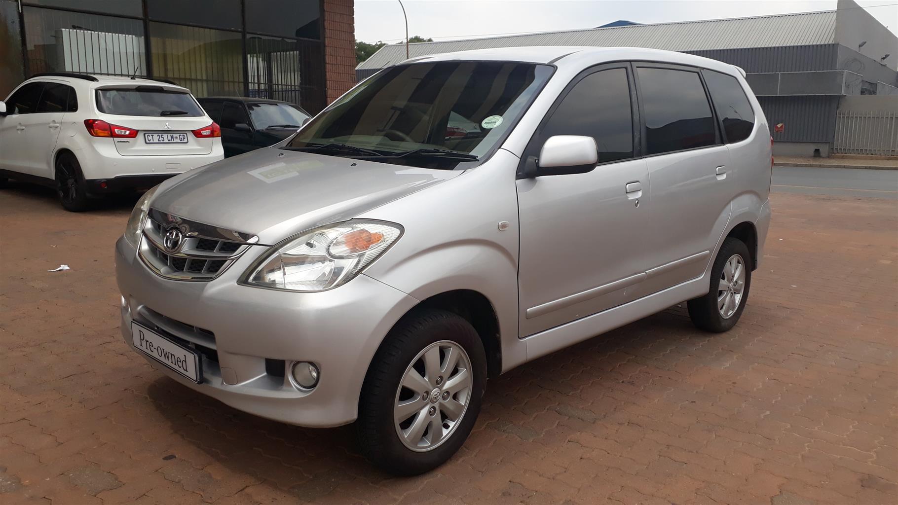 2008 Toyota Avanza AVANZA 1.5 TX