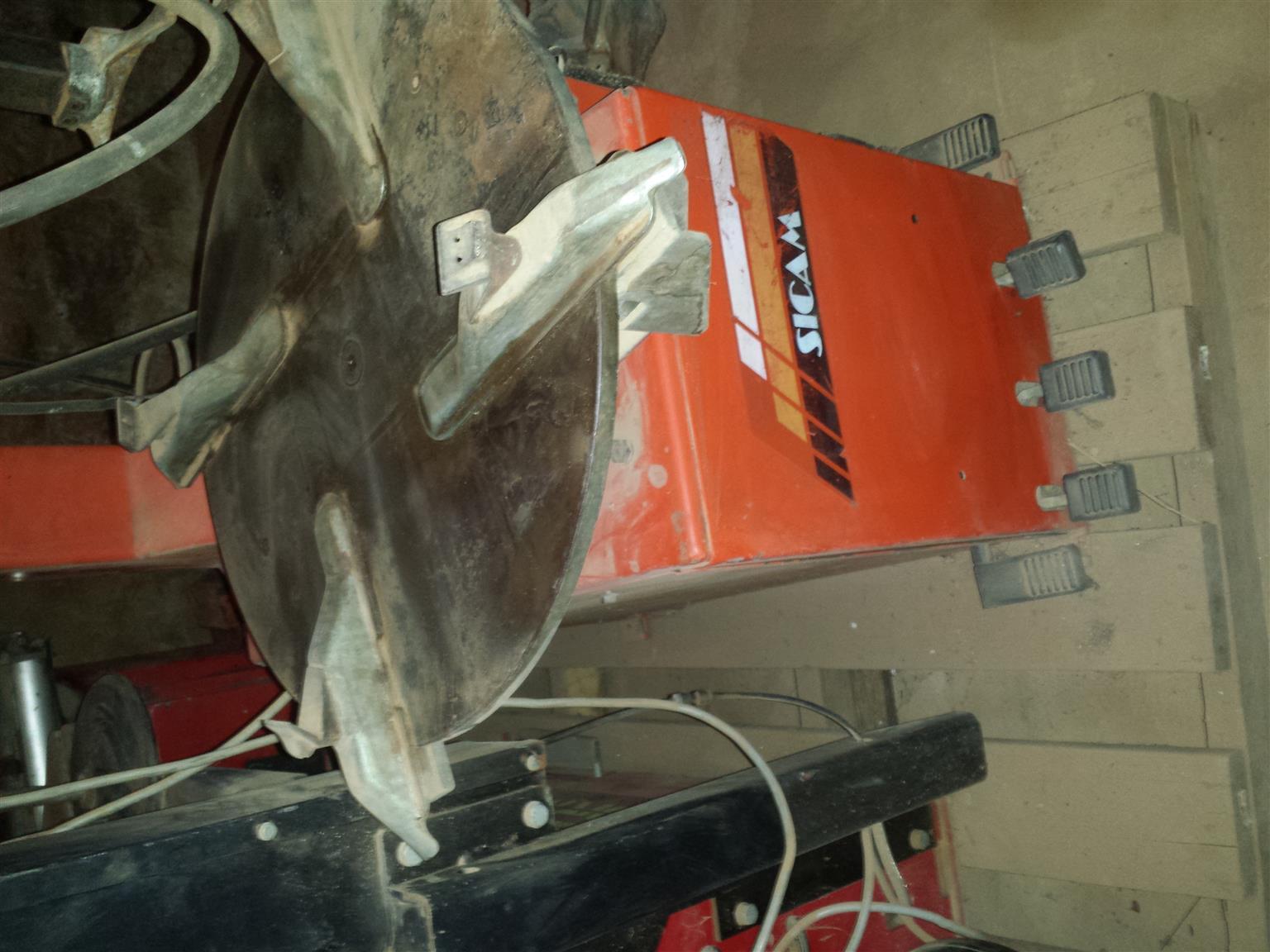 Tyre Equipment