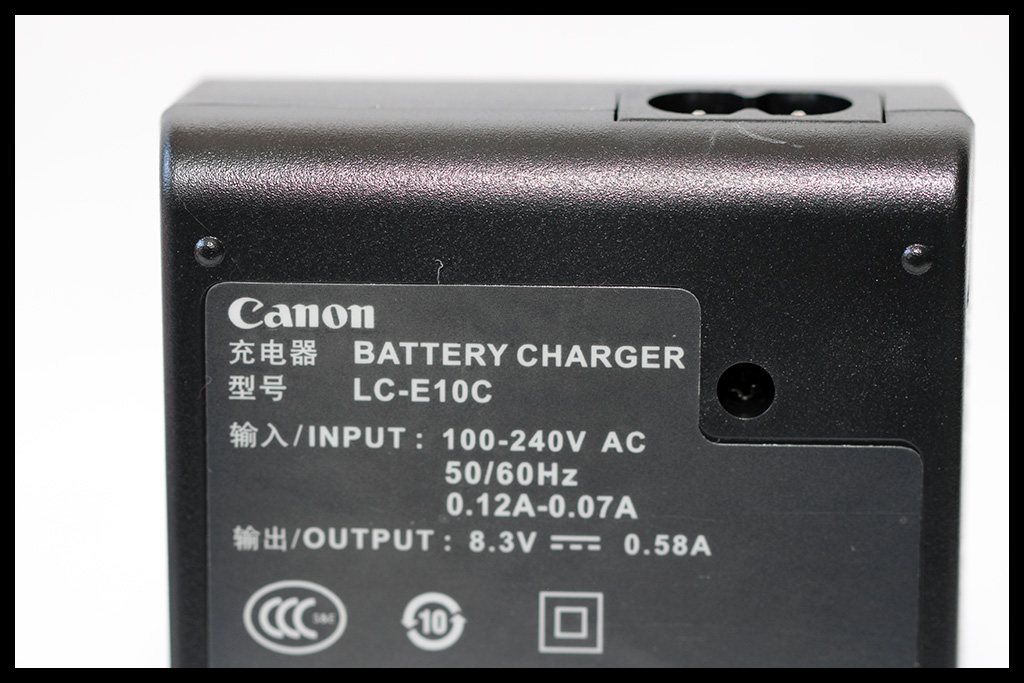 Canon LC-E10E Battery Charger