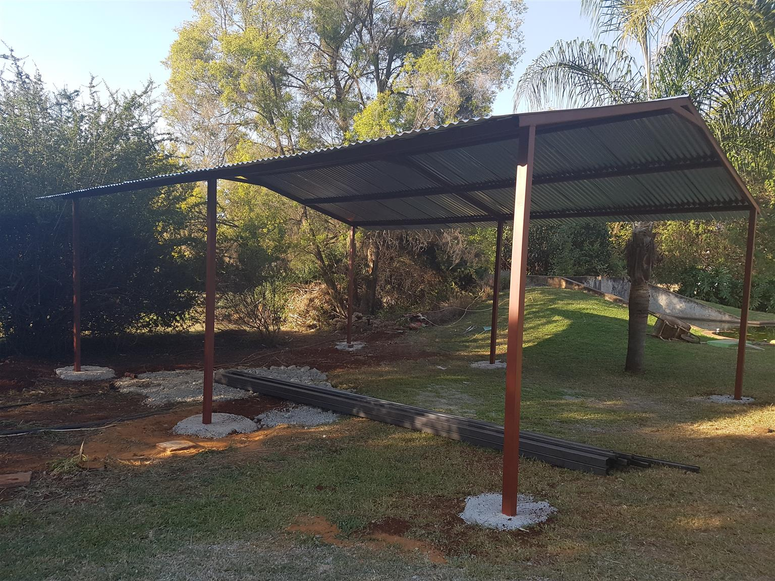 NEW STEEL STRUCTURES - ALL SIZES - HIGH QUALITY - AFFORDABLE PRICES