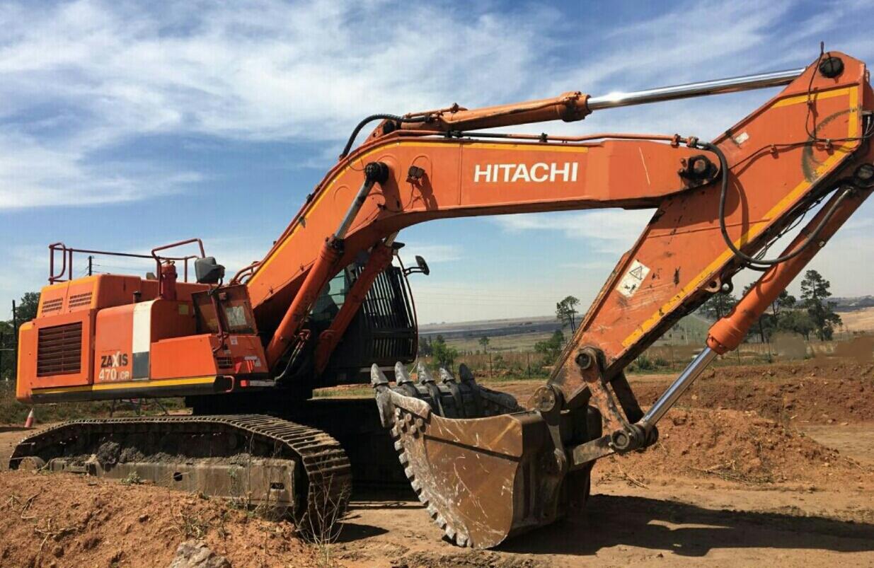 2012 HITACHI  EXCAVATOR 470-3