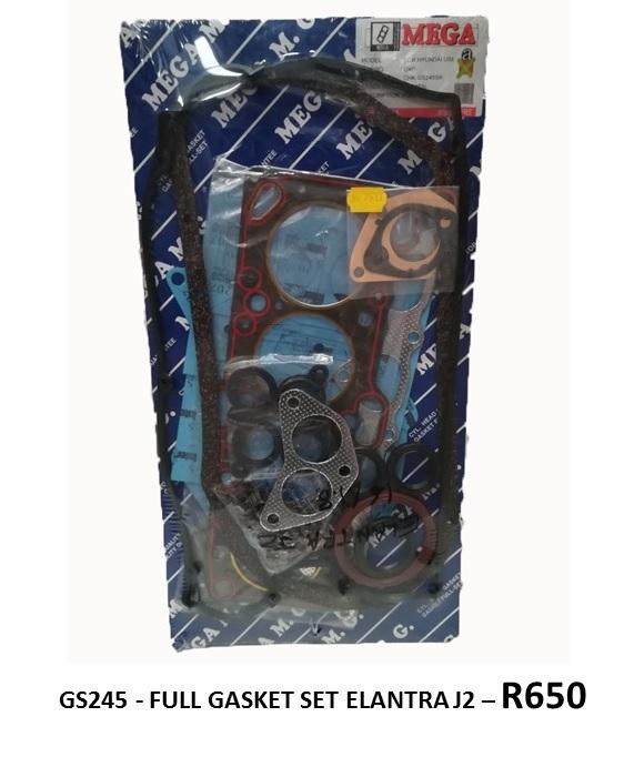 *FULL GASKET SET* GS245 - ELANTRA J2*