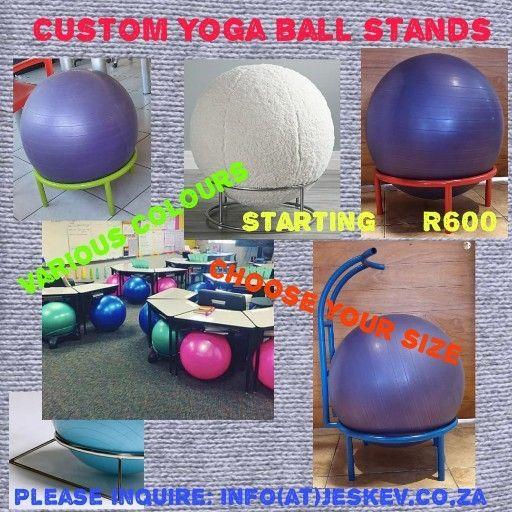 yoga ball stand