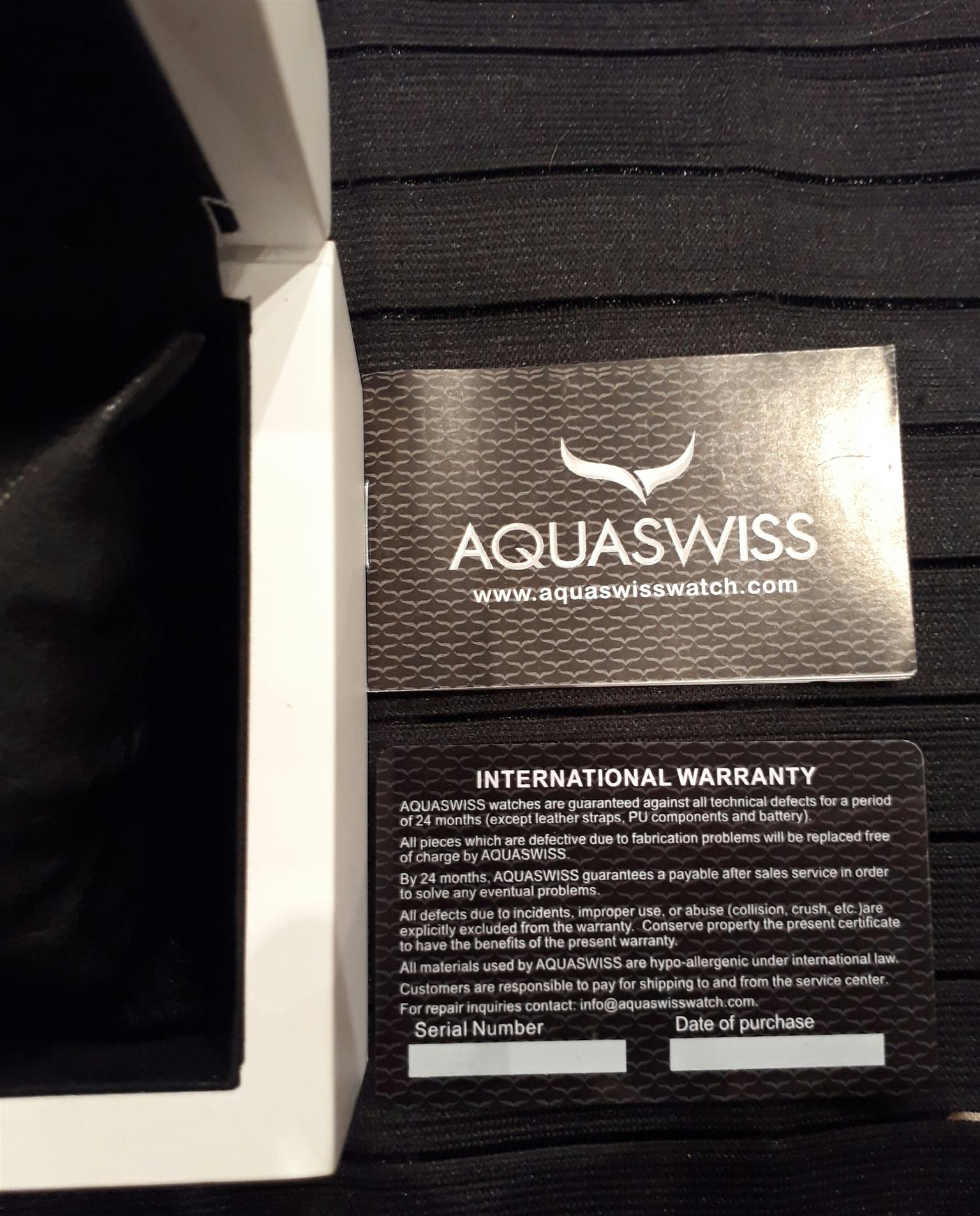 Auqaswiss mens watch