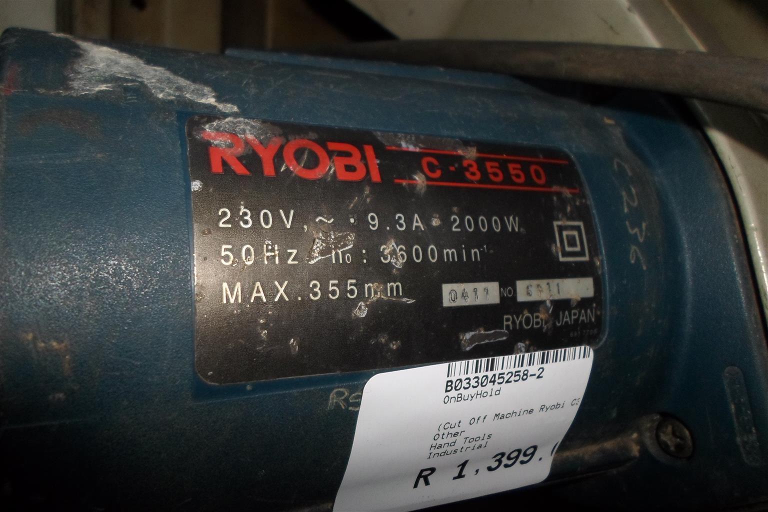 2000W Ryobi C-3550 Cut Off Machine