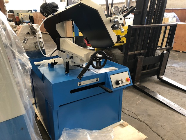 Saw, Band Saw, Horizontal, Cap: 270mm Diameter with Miter-Angle Cutting, Brand New