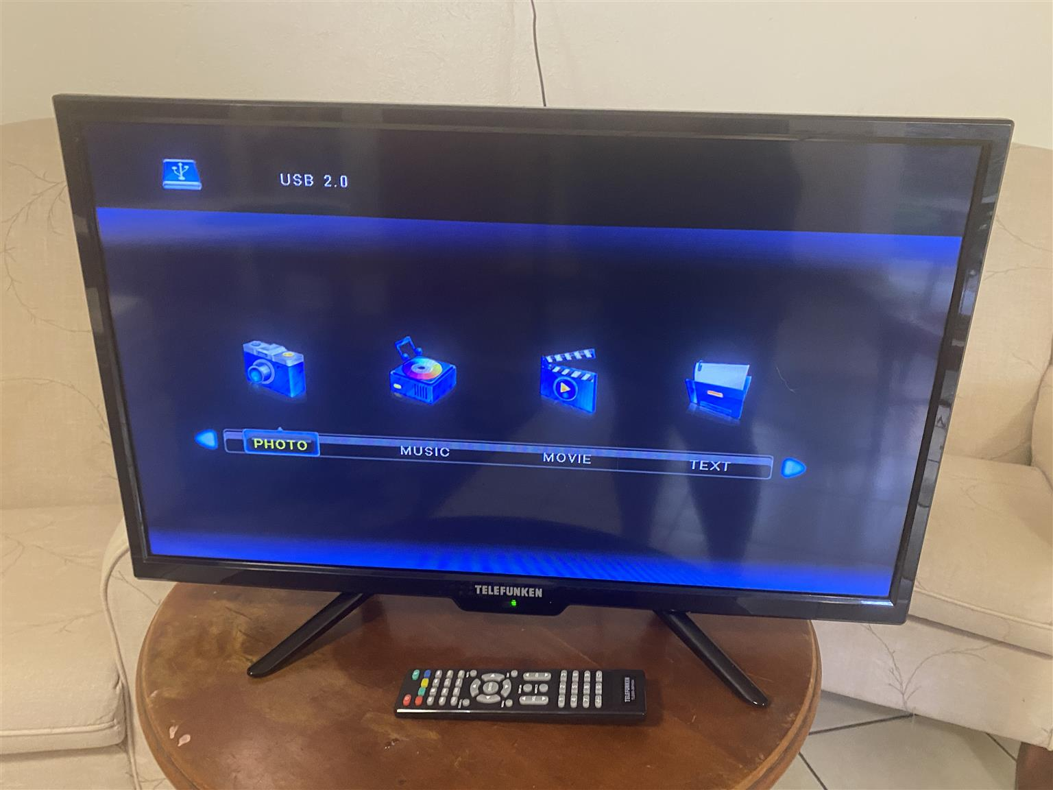 28in Telefunken HD LED TV
