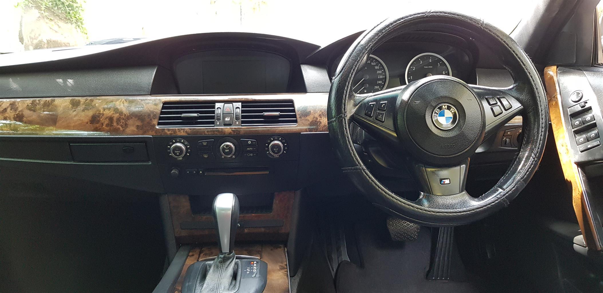 2006 BMW 5 Series 525i M Sport steptronic
