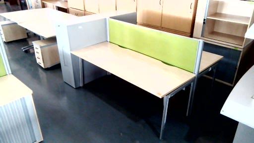 2 Way cluster plus  steel cabinet plus dividers