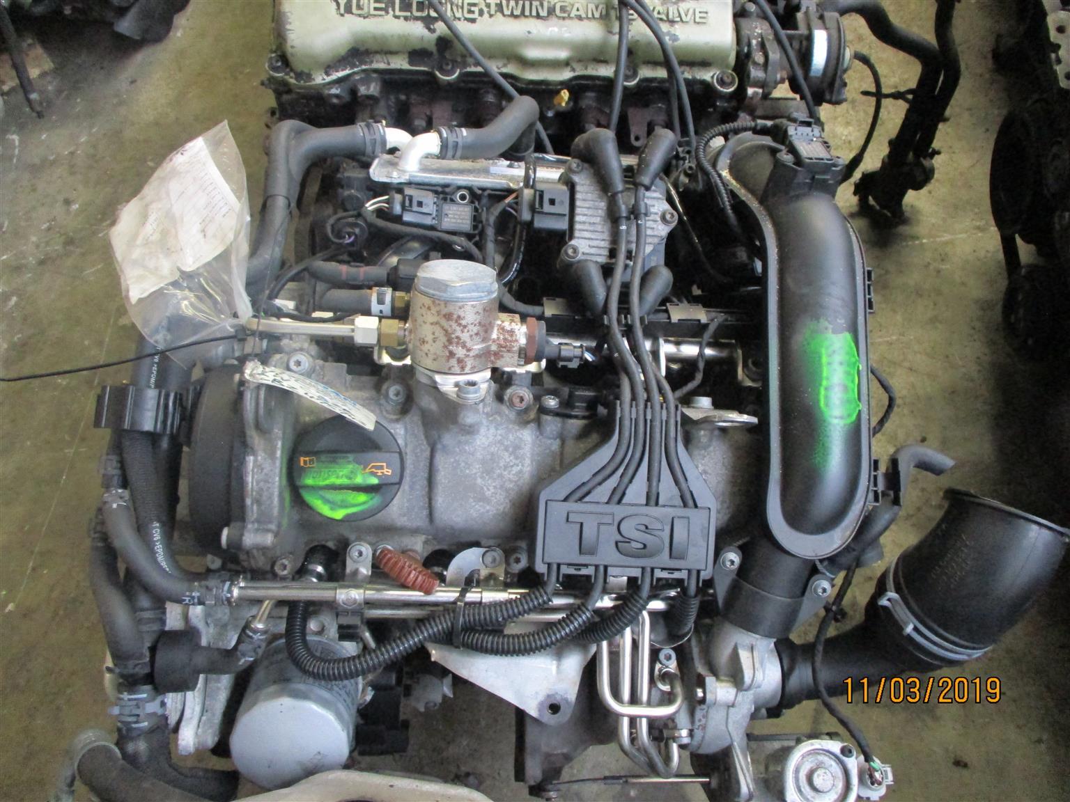 VW Golf 6 1 2 tsi engine for sale