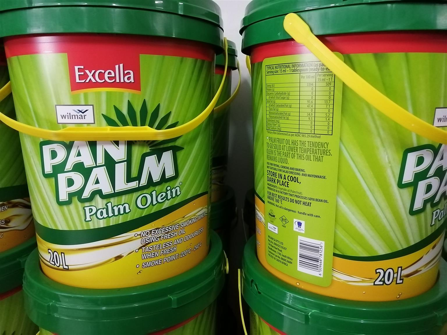 20L Excella Pan Palm cooking