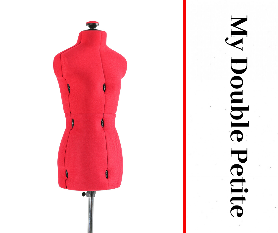 My Double Petite Red Form - Adjustable Dressmaker Doll / Mannequin / Sewing Doll