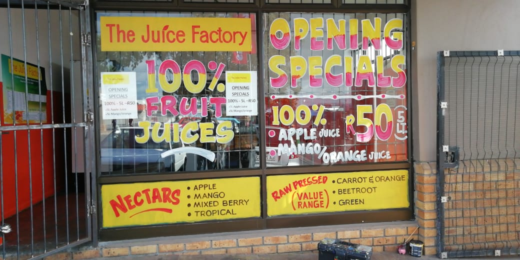 The Juice Factory - R180 000