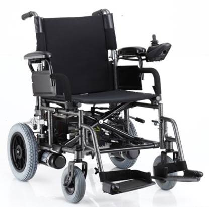 MR WHEELCHAIR FOLDABLE ECO POWER*/