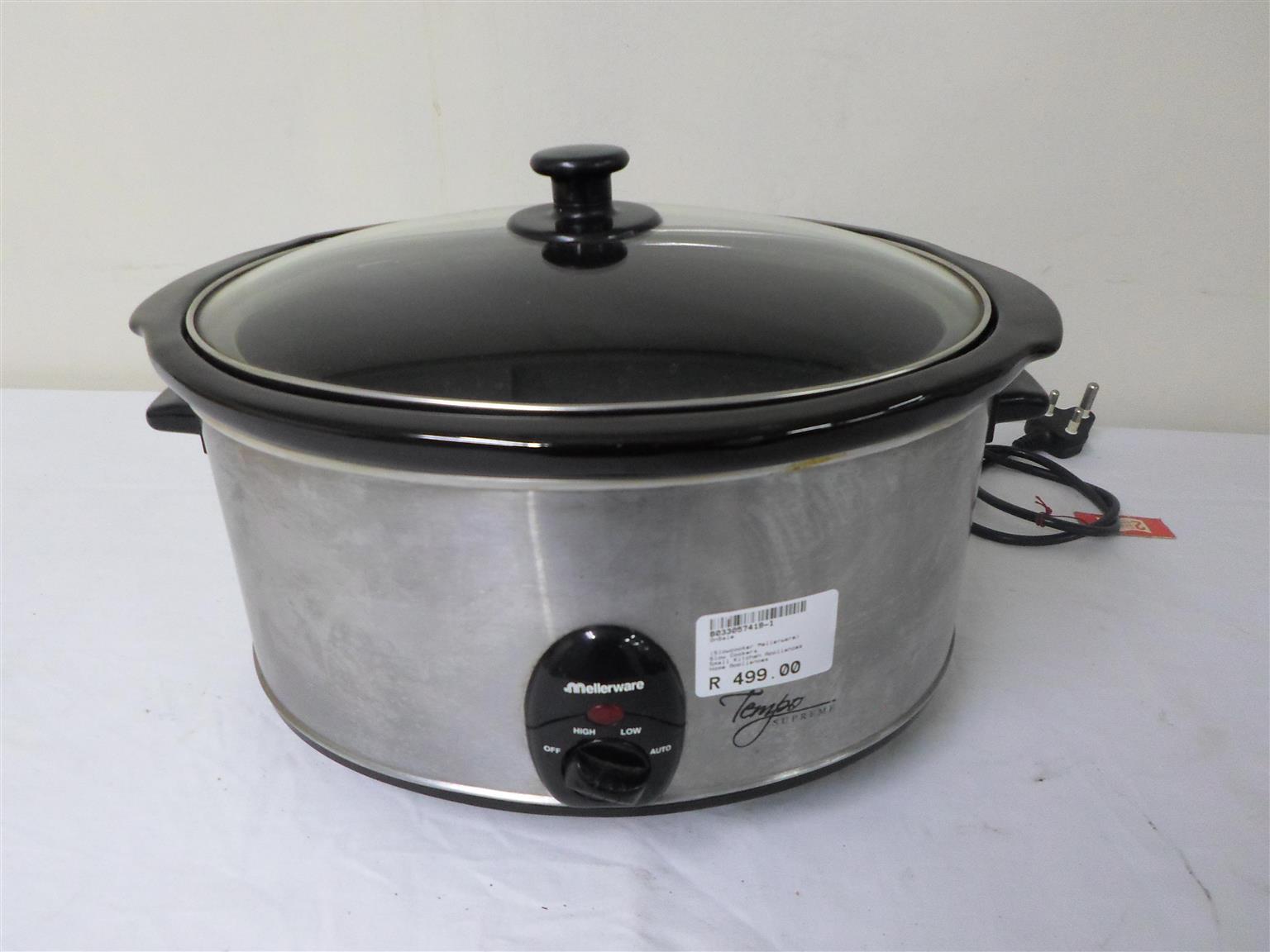 Slow Cooker Mellerware