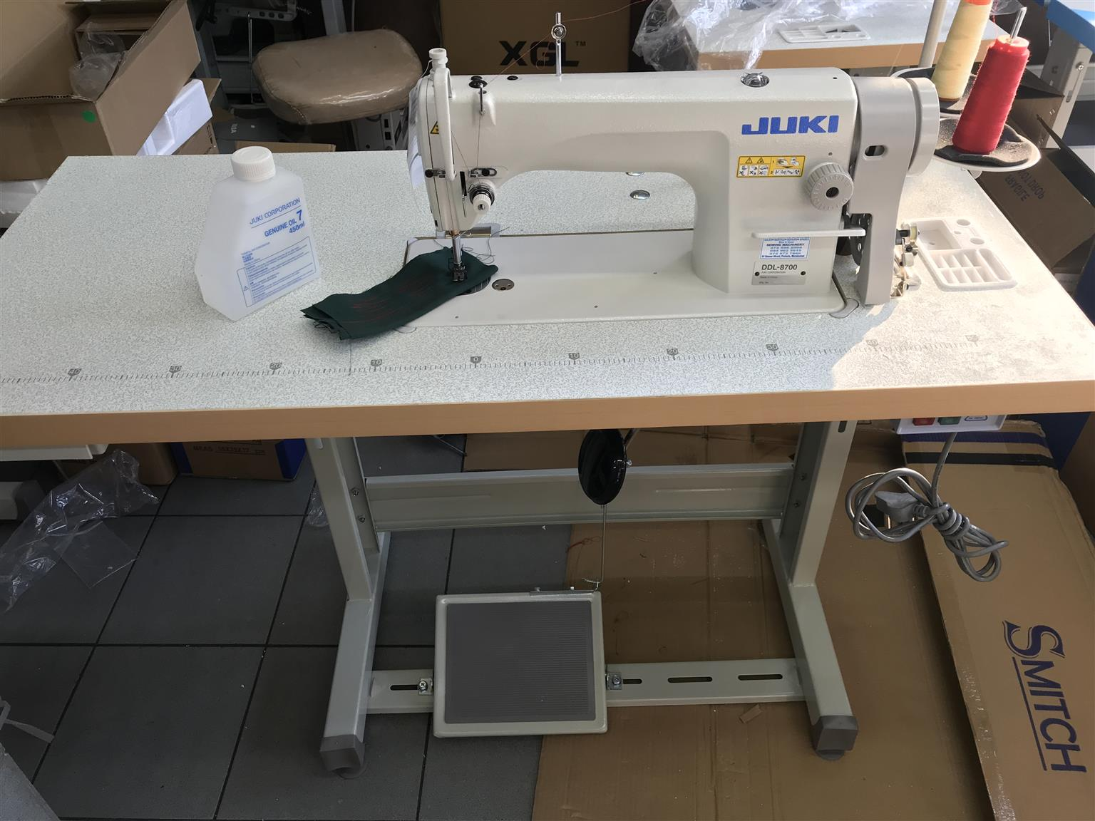 Brand new JUKI industrial sewing machines