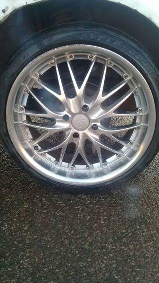 """17"""" rims n tyres to swap"""
