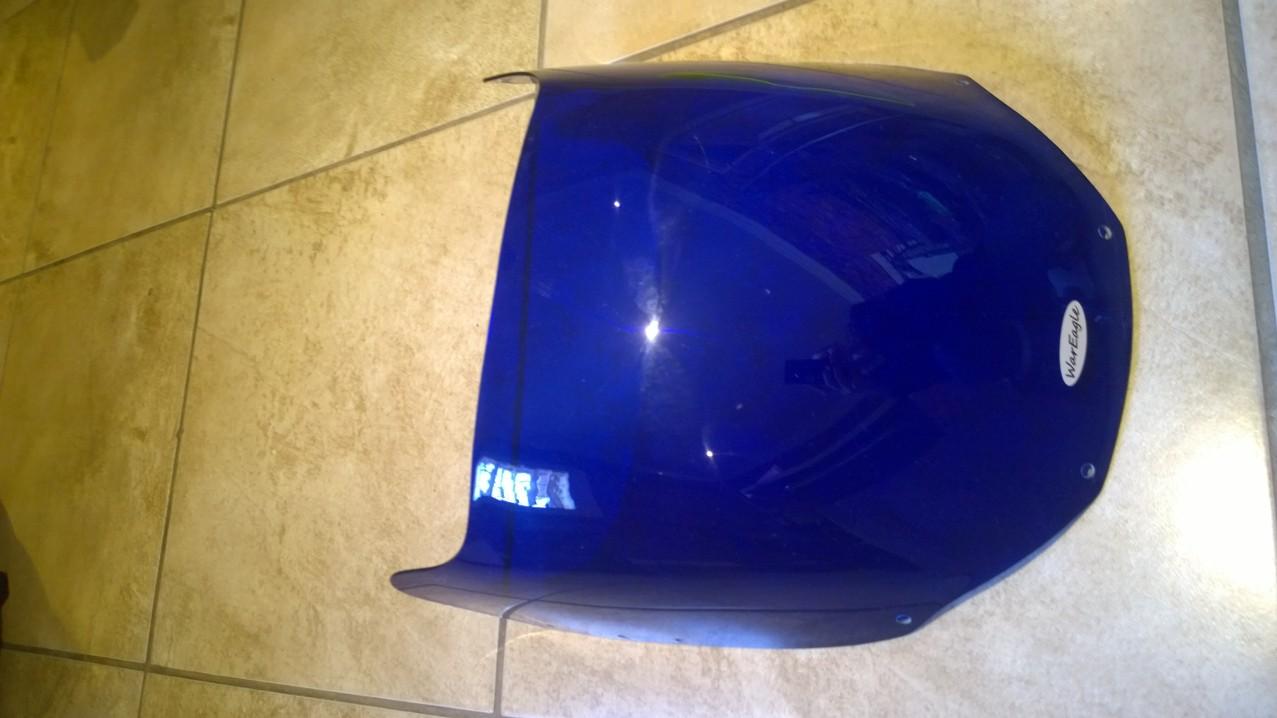War Eagle Racing Motorcycle Screens and Fairings Yamaha FZR1000 2GH Standard Dark Blue Screen