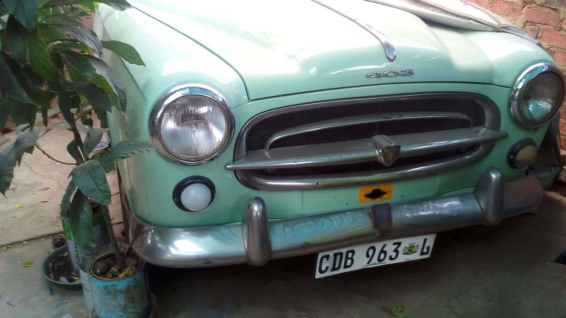 1963 Peugeot 405