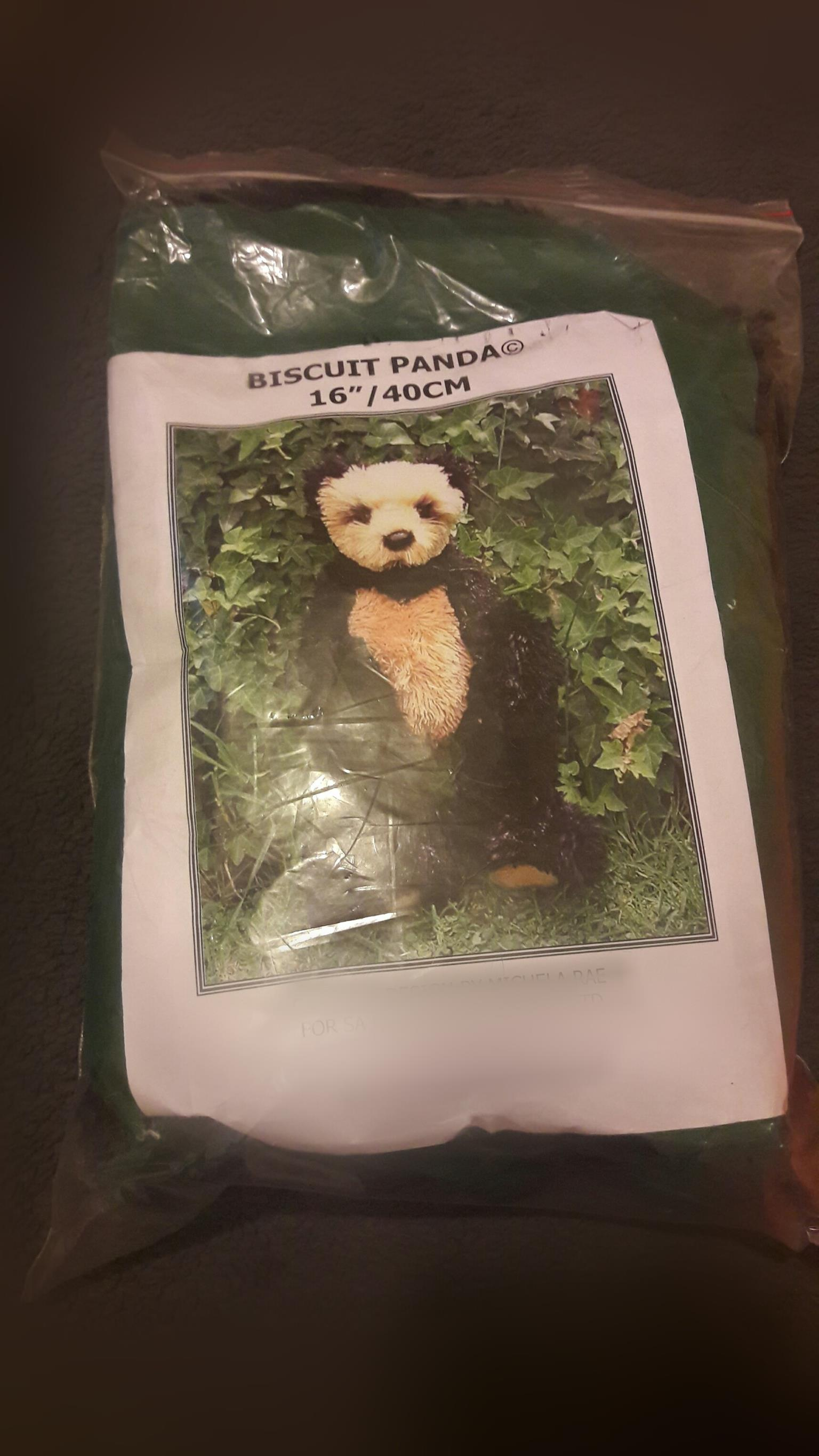 DIY: Build your own panda bear.  Brand new