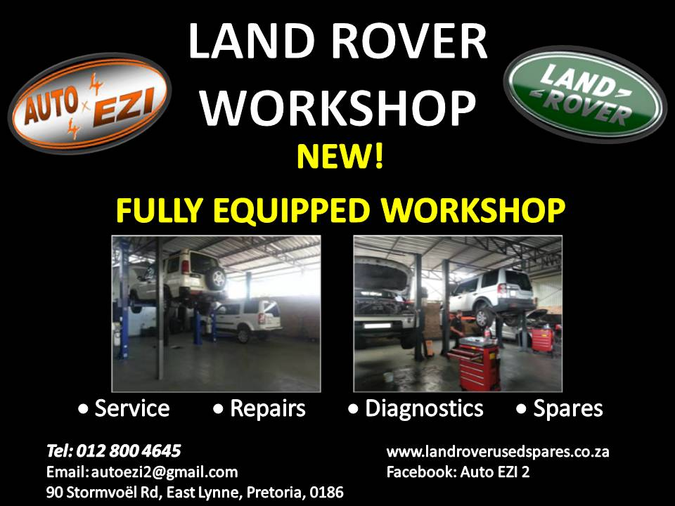 Land Rover Services, Repairs and Diagnostics | Auto Ezi