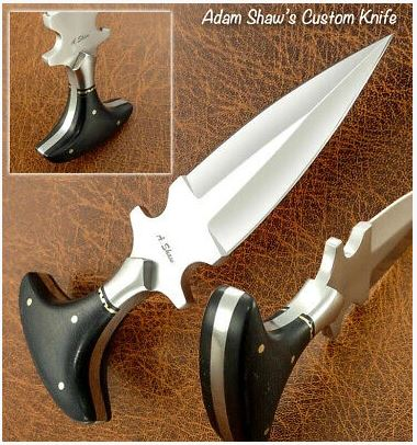 Handmade Stainless Steel Boot Dagger