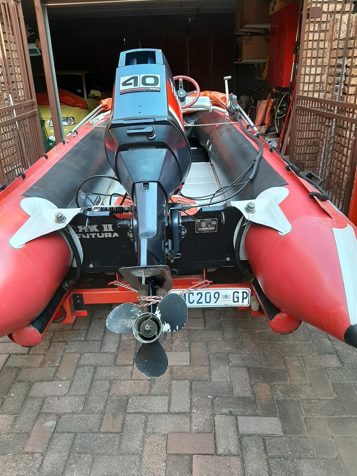 Inflatable Boat Zodiac MkII Futura