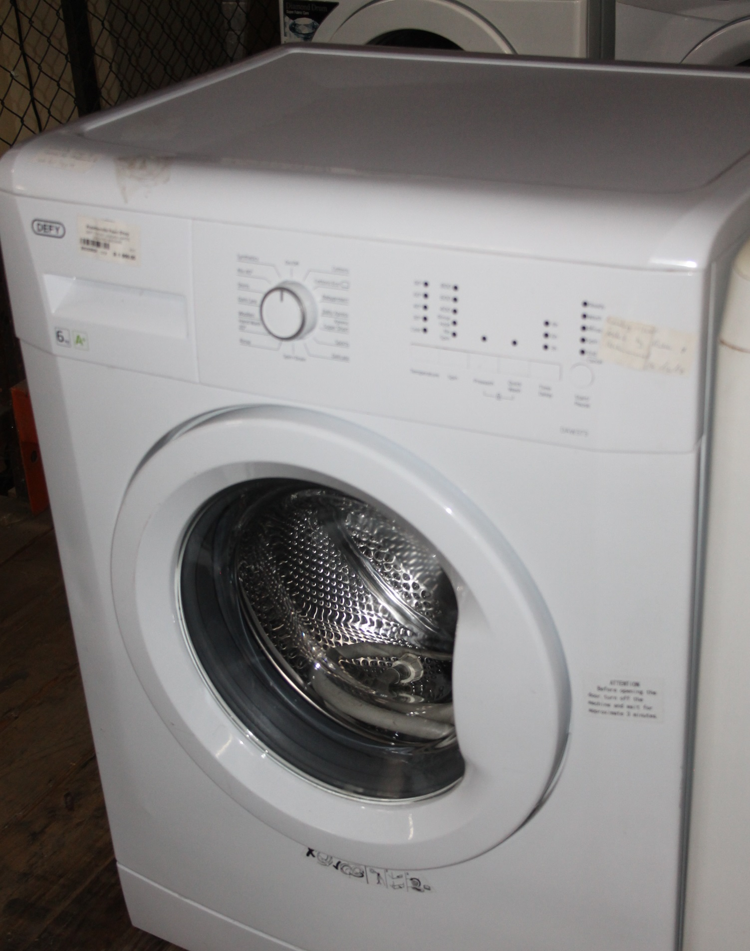 Defy front loader white washing machine S032382A #Rosettenvillepawnshop