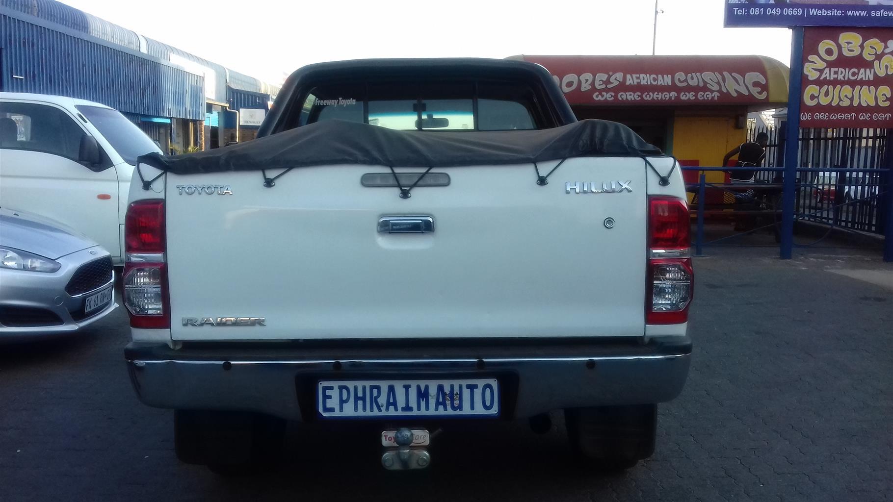 2012 Toyota Hilux 2.5D 4D double cab Raider