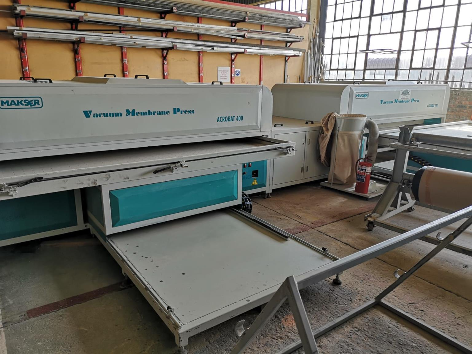 Vacuum Membrane Press For Sale
