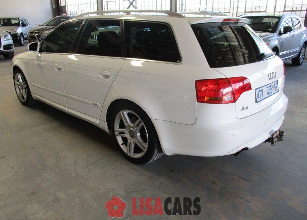 2008 Audi A4 2.0TDI Avant Multitronic