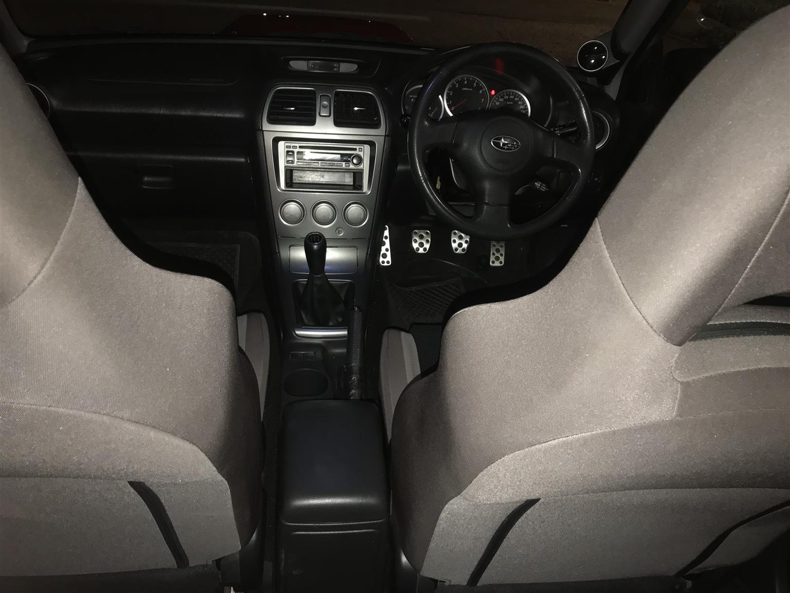 2007 Subaru Impreza WRX WRX Premium