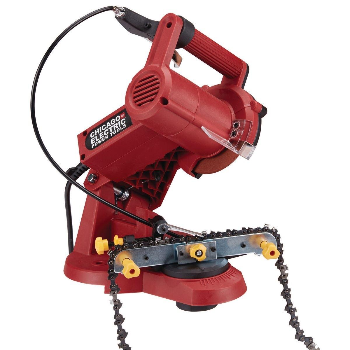 Chainsaw chain sharpening
