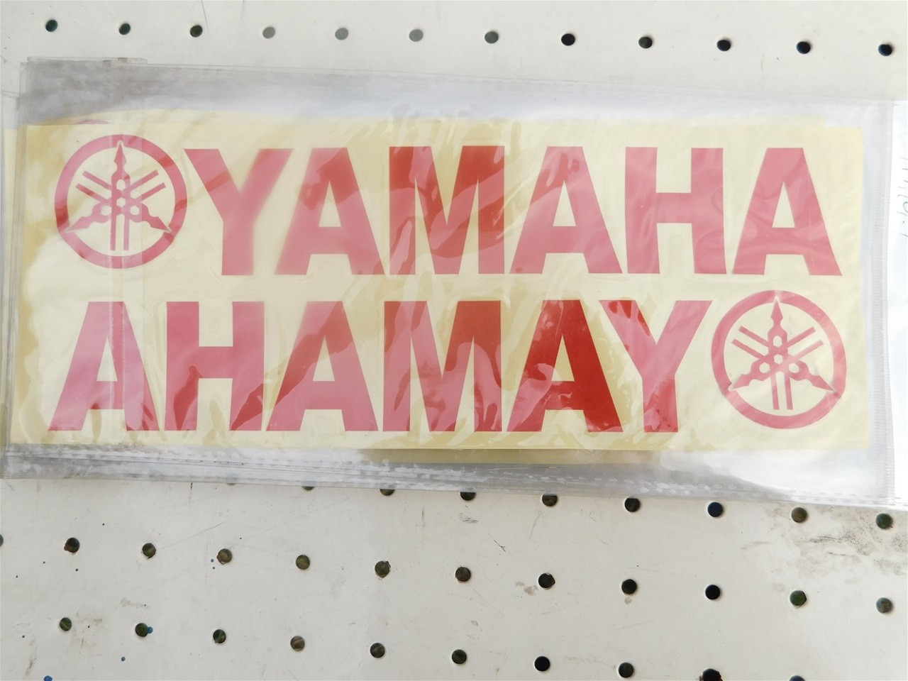 AA101.1 Sticker red Yamaha