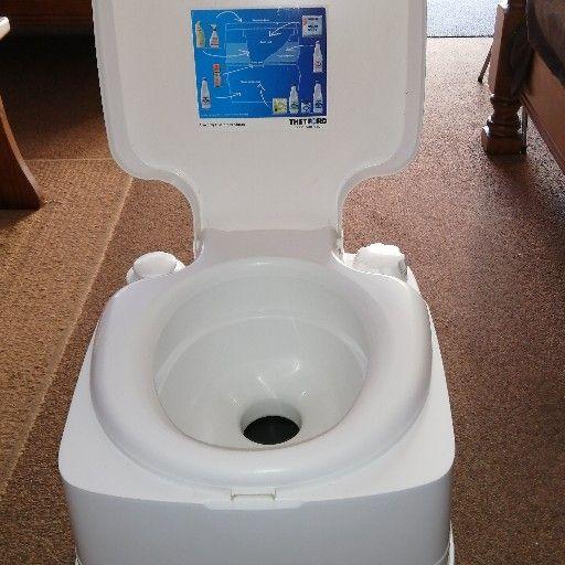Caravan toilet