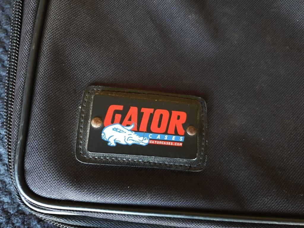Gator Pedal Tote - Guitar Effects Pedal Board with Padded Bag
