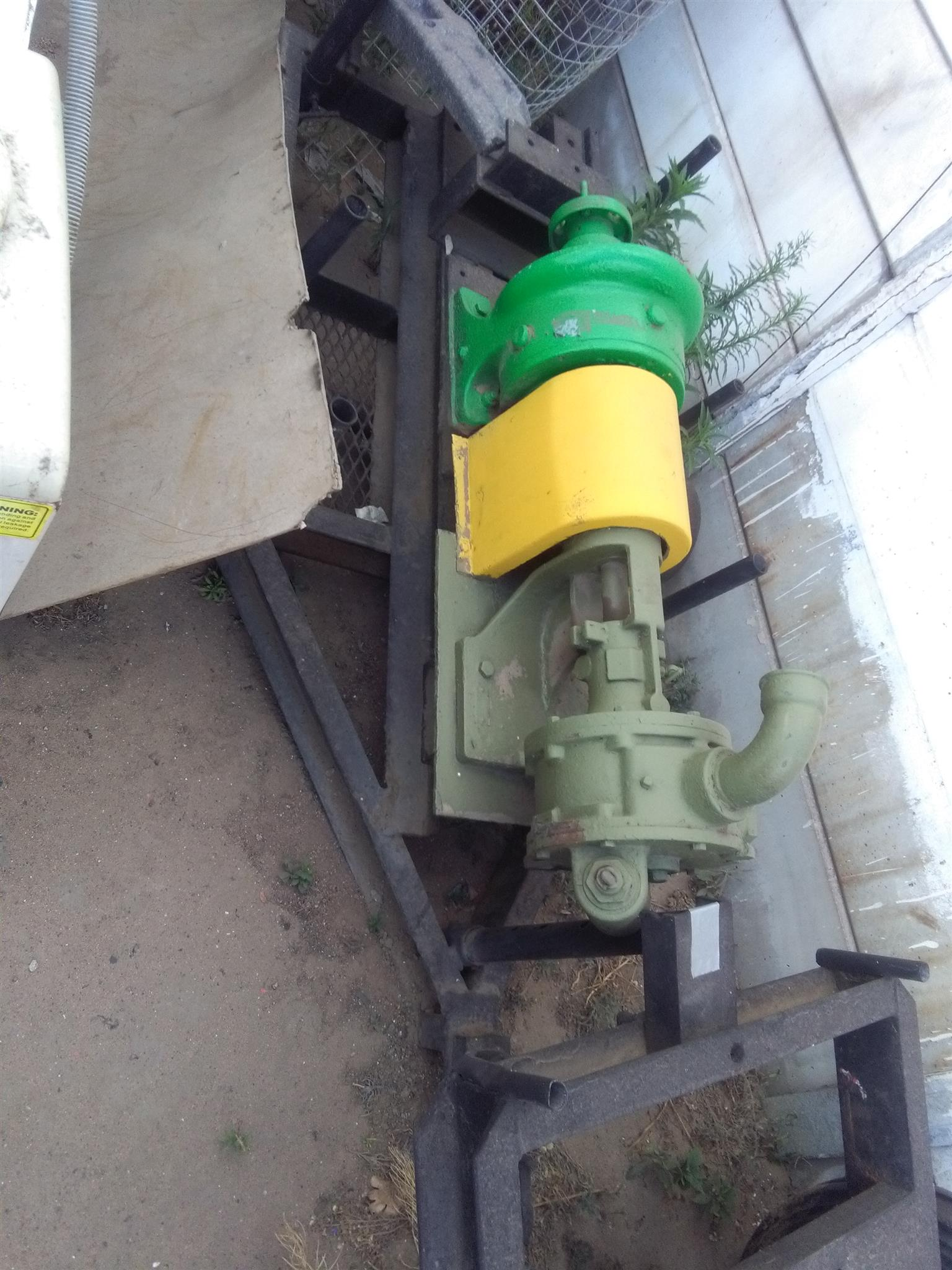 Sludge pumps x 2