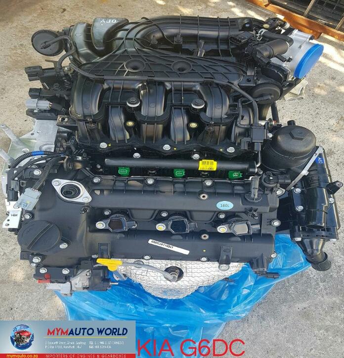 Imported used KIA SORENTO/ SANTE-FE 3.5L V6, G6DC engine