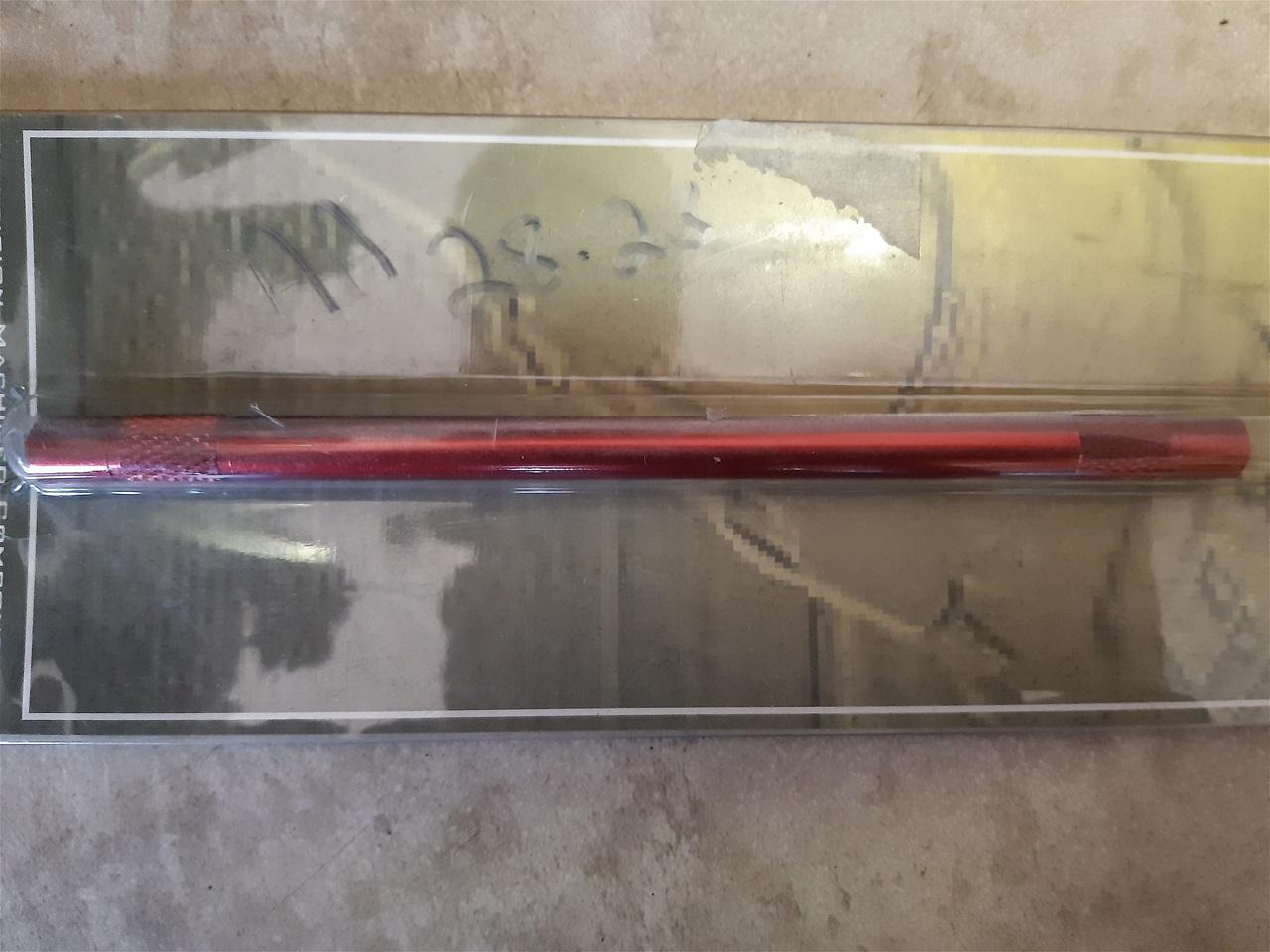 AA28.23 gear shift rod alloy Honda CBR 929/954 , Kawasaki ZX 6 RR red