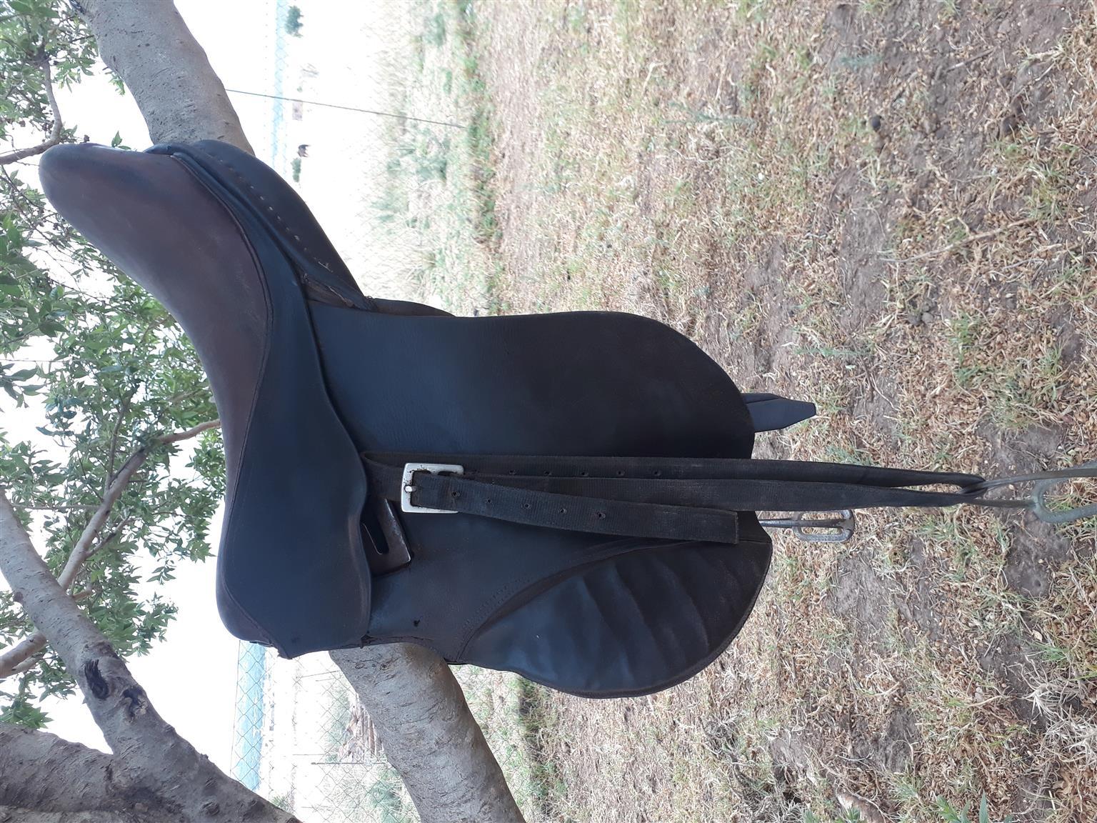 Children's horse saddle